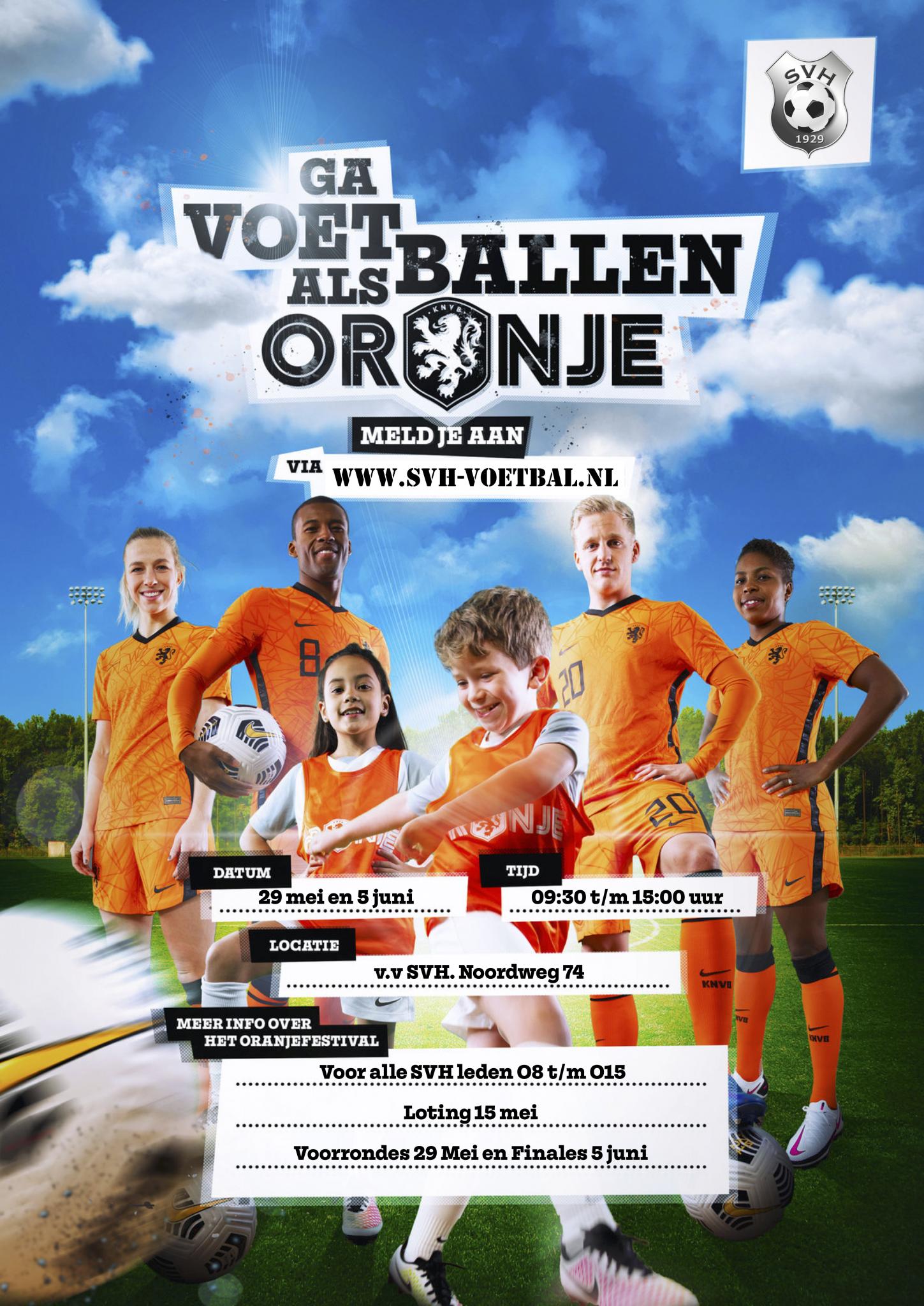 Oranje Festival: SVH EK Voetbal